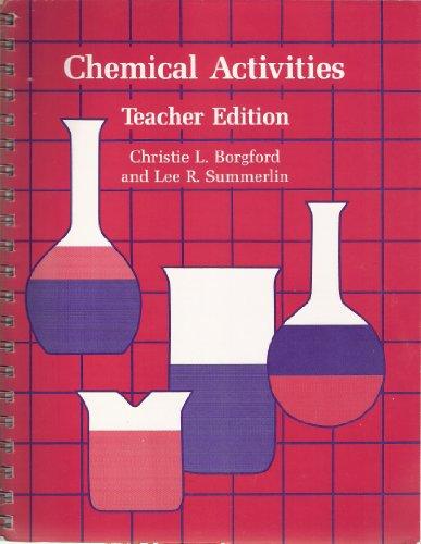 9780841214170: Chemical Activities, Teacher Edition