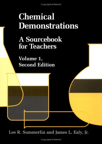 9780841214811: Chemical Demonstrations: A Sourcebook for Teachers Volume 1