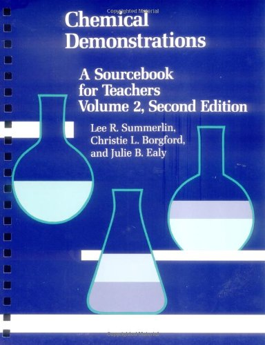 9780841215351: Chemical Demonstrations: A Sourcebook for Teachers Volume 2 (An American Chemical Society Publication)