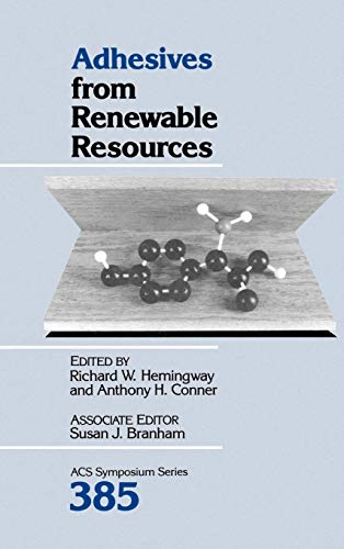 9780841215627: Adhesives from Renewable Resources (ACS Symposium Series)
