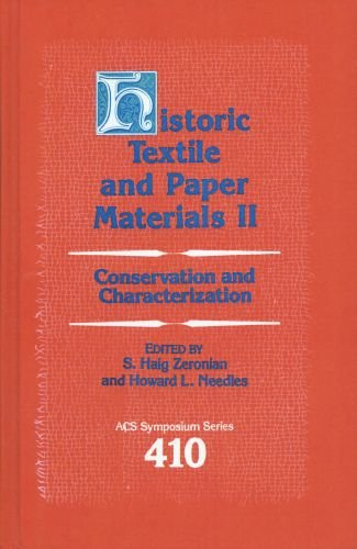 9780841216839: Historic Textile and Paper Materials II: Conservation and Characterization (ACS Symposium Series)