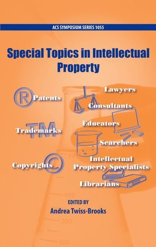 9780841225947: Special Topics in Intellectual Property (ACS Symposium Series)