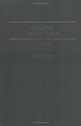 9780841234963: Emulsions: Theory and Practice