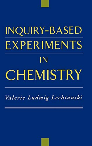 9780841235700: Inquiry-Based Experiments in Chemistry (American Chemical Society Publication)
