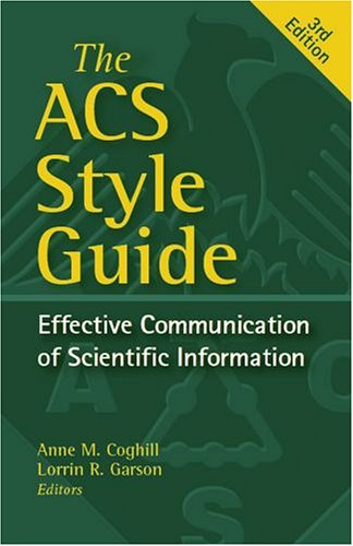 9780841239494: ACS Style Guide: Effective Communication of Scientific Information