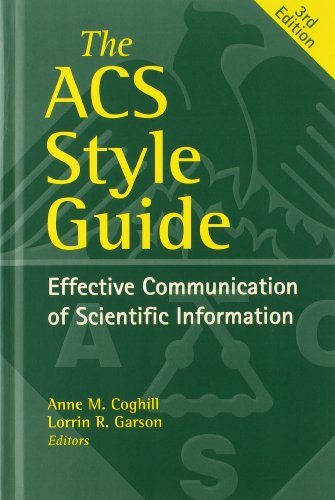 9780841239999: The ACS Style Guide: Effective Communication of Scientific Information (An American Chemical Society Publication)