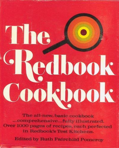 THE REDBOOK COOKBOOK: Pomeroy, Ruth Fairchild (Editor)
