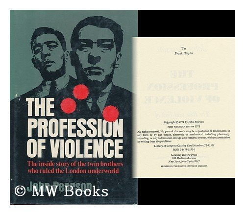 9780841502505: The Profession of Violence; the Rise and Fall of the Kray Twins
