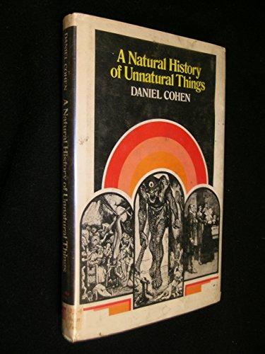 9780841520295: A natural history of unnatural things
