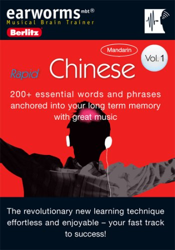 9780841600454: Earworms Chinese: 200+ Essential Words and Phrases Anchored into Your Long Term Memory With Great Music (Earworms: Musical Brain Trainer)