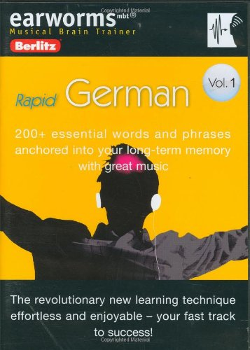 9780841600485: Earworms German: 200+ Essential Words and Phrases Anchored into Your Long-term Memory With Great Music (Earworms: Musical Brain Trainer) (German Edition)