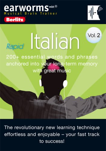 9780841601031: Earworms Rapid Italian: 200+ Essential Words and Phrases Anchored into Yourlong-term Memory With Great Music