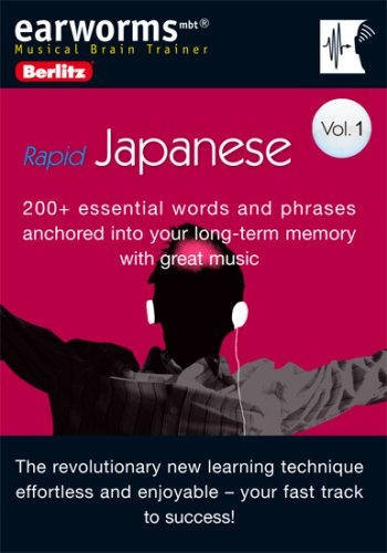 9780841601048: 1: Earworms Rapid Japanese (Berlitz Earworms Musical Brain Trainer) (Japanese Edition)