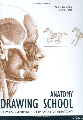9780841601642 Anatomy Drawing School Human Animal Comparative