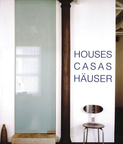 9780841603028: Houses - Casas - Hauser (English, German and Spanish Edition)