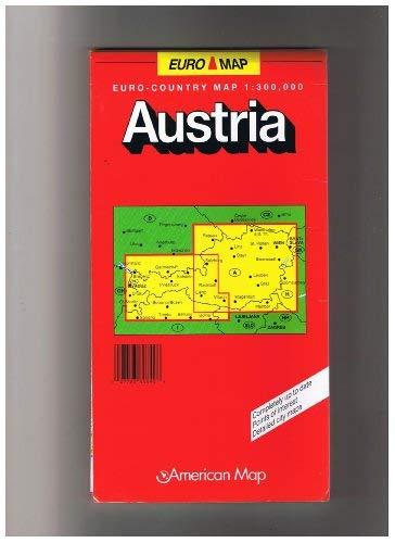 9780841605862: Austria: Euro - Regional Map 1: 300,000