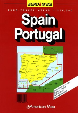 9780841606128: Spain/Portugal (Euro-Atlas)