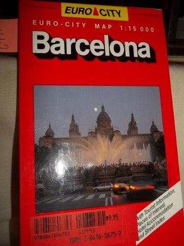 9780841606753: European Cities: Barcelona (City Maps)