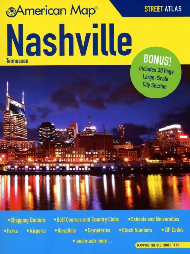 9780841608832: American Map Nashville, Tn Atlas