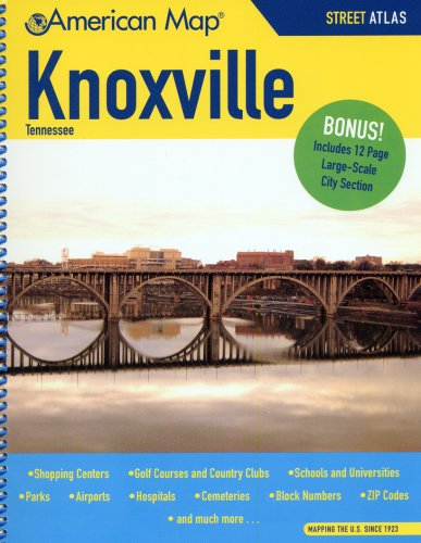 9780841609259: Knoxville, Tennessee, Street Atlas