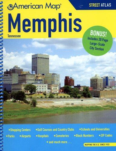 9780841609266: American Map Memphis Tennessee Street Atlas