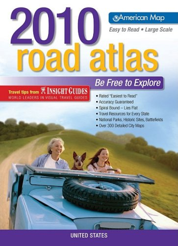 American Map United States Road Atlas 2010 Large Scale (American Map Road Atlas): American Map
