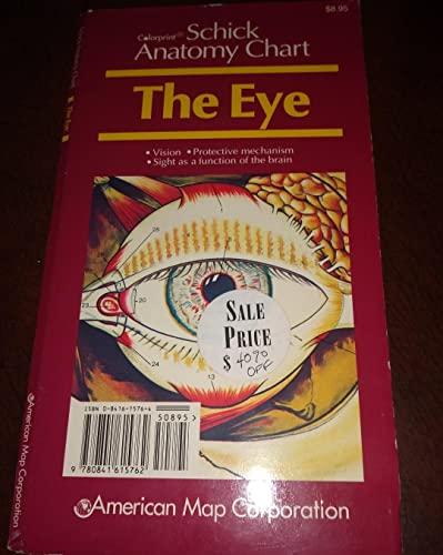 9780841615762: Schick Anatomy Chart: the Eye