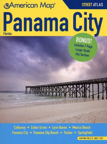 Panama City FL Atlas (American Map): American Map