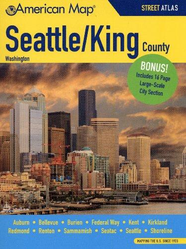 9780841617360: Seattle King Counties WA Street Atlas