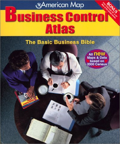9780841617728: American Map Business Control Atlas: The Basic Business Bible
