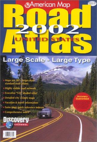 United States Road Atlas: American Map Corporation