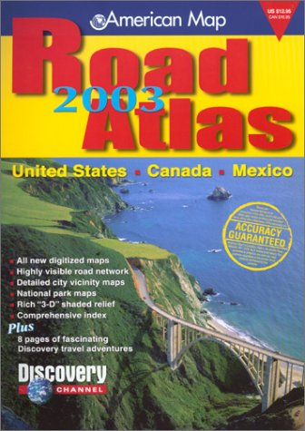 2003 AMC US Road Atlas (Standard) (Road Atlas: United States, Canada, Mexico (Spiral))