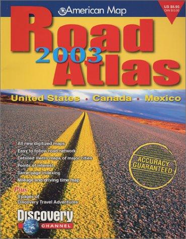 United States Road Atlas (Road Atlas: United States, Canada, Mexico): Map, American