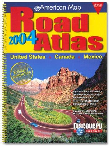 9780841617872: Amc Us/Canada/Mexico Road Atlas 2004: Standard (Road Atlas: United States, Canada, Mexico (Spiral))