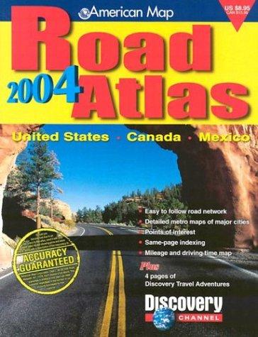 9780841617896: AMC US/Canada/Mexico Road Atlas 2004 (United States Road Atlas Including Canada and Mexico)