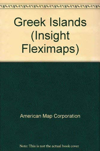 9780841619173: Insight Flexi Map Greek Island (Insight Fleximaps)
