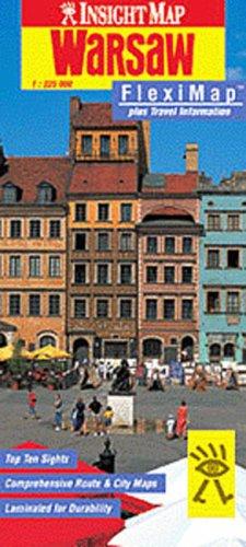 Insight Map Warsaw: Fleximap (Insight Fleximaps)