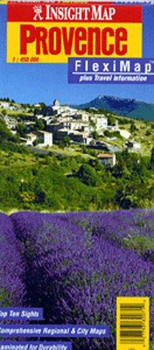 Insight Provence Fleximap (Insight Fleximaps): American Map Corporation