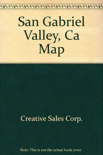 9780841626331: San Gabriel Valley, Ca Map