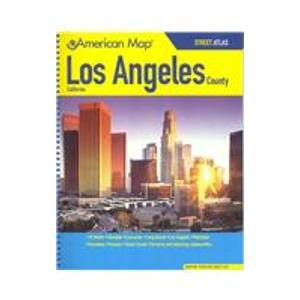 American Map Corporation Los Angeles County, Ca Street Atlas: American Map Corporation