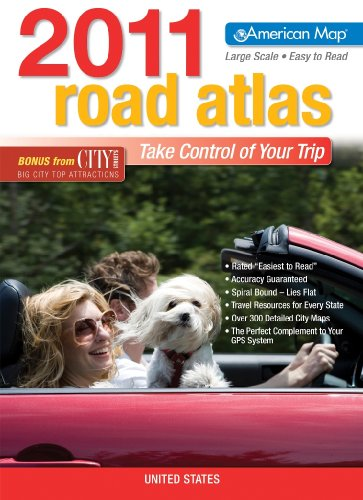US ROAD ATLAS 2011 LARGE PRINT (American: COMPANY, AMERICAN MAP