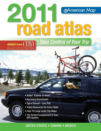 US ROAD ATLAS 2011 MIDSIZE (Road Atlas: COMPANY, AMERICAN MAP