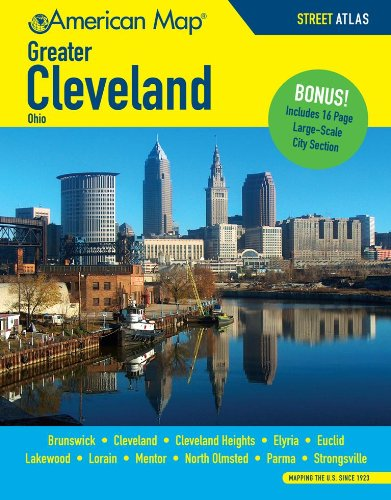 9780841629127: Greater Cleveland OH Atlas