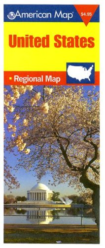 9780841654457: United States Regional Map (American Map)