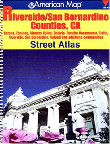 Riverside/san Bernardino Counties Ca Atlas