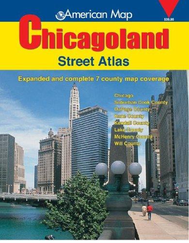 9780841654877: American Map Chicagoland Street Atlas: 2005 (Chicagoland Atlas)