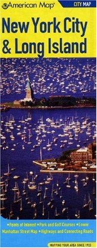 9780841654976: American Map New York City & Long Island