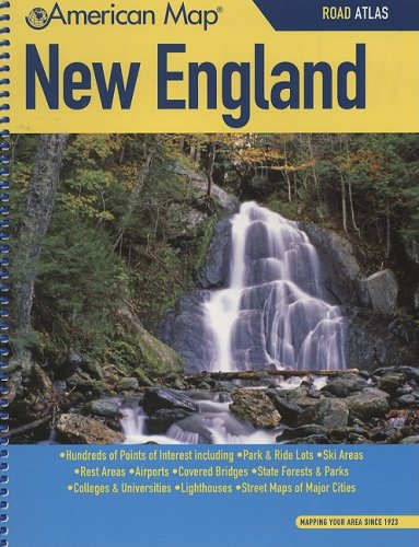 9780841655089: American Map New England Road Atlas