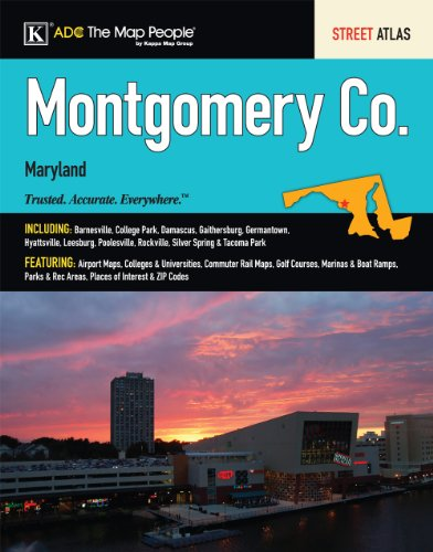 9780841671911: Montgomery County MD Atlas (Montgomery County (MD) Street Map Book)