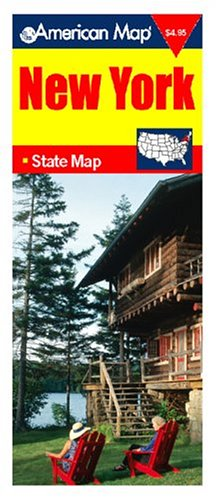 Map-New York -OS (State Map): American Map Corporation